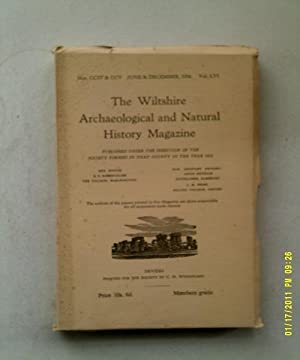 The Wiltshire Archaeological and Natural History Magazine,: Various