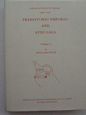 Prehistoric Emporio and Ayio Gala :Excavations in: Wood S ;
