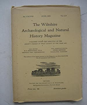 The Wiltshire Archaeological and Natural History Magazine,: The Wiltshire Archaeological