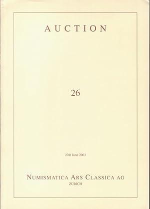 Numismatica Ars Classica Auction 26, 27th 2003.