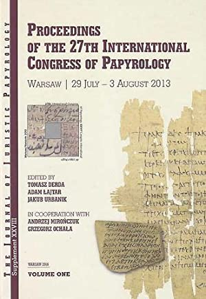 Proceedings of the 27th International Congress of: ed. by Tomasz