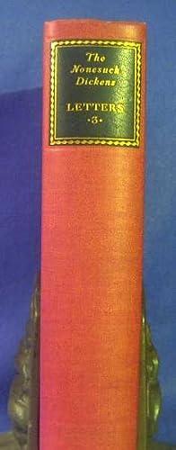 Letters. Vol. III. 1858-1870: Dickens, Charles. Ed. Walter Dexter