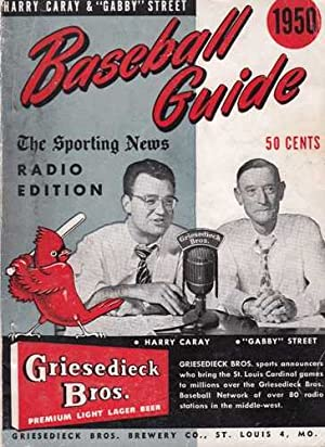 Baseball Guide and Record Book. Radio Edition: Caray, Harry and Gabby Street, eds