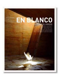 En Blanco nº 10 Los colores del: Enrique Sobejano, Alfonso