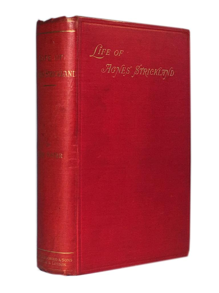 Life_of_Agnes_Strickland_STRICKLAND_Jane_Margaret_Assez_bon_Couverture_rigide