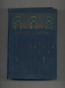 Heinrich von Kleists sämtliche Werke in 4: Kleist, Heinrich von