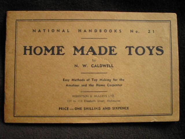 National Handbooks No  21  Home Made Toys