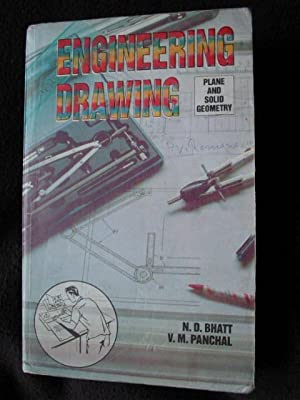 Elementary Engineering Drawing. [ Plane and Solid Geometry ] [ In Frist-Angle Projection Method ] [...