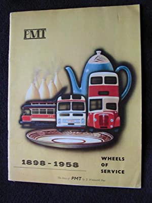The Story of Potteries Motor Traction [ PMT ] Company Limited. [ 1898 - 1958. Sheels of Service ]
