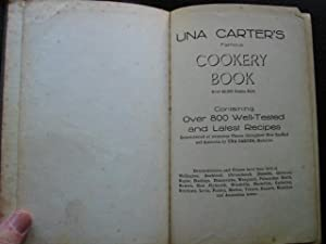 Una Carter's famous national cookery book : containing over 800 well-tested recipes / ...