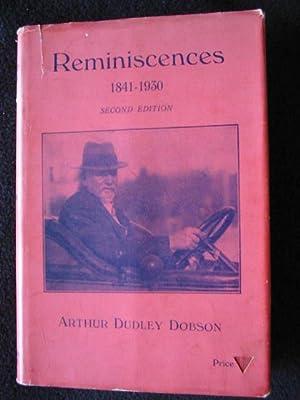 Reminiscences of Arthur Dudley Dobson, Engineer 1841: Dobson, Arthur Dudley