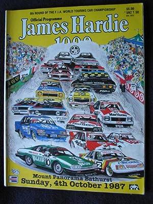 Official Programme James Hardie 1000. Mount Panaorama,: Tuckey, Bill, Ed.