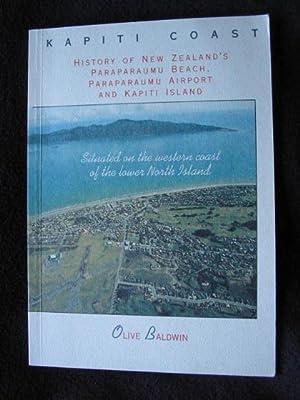 Kapiti Coast : history of New Zealand's Paraparaumu beach, Paraparaumu airport and Kapiti ...