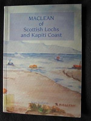 Maclean of Scottish Lochs and Kapiti Coast: Dobson, Jean