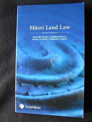 Maori Land Law. Second Edition: Boast, Richard