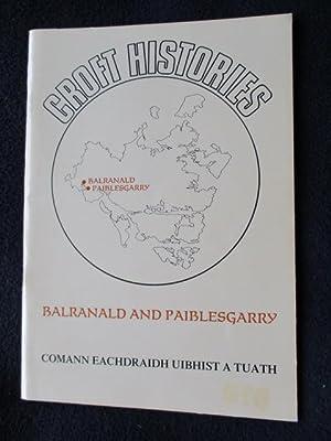 Croft histories : Balranald and Paiblesgarry