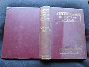Rowland Ward's Records of Big Game with: Dollman, J. G.