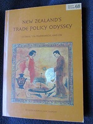 New Zealand's trade policy odyssey : Ottawa,: Nixon , Chris