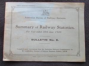 Australian Bureau of Railway Statistics. Summary of: Carroll, W., compiler