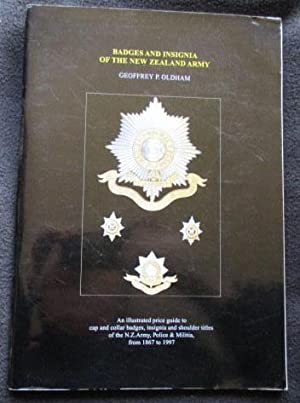 Badges and insignia of the New Zealand: Oldham, Geoffrey P.