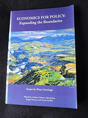 Economics for policy : expanding the boundaries: Gorringe, Peter A.