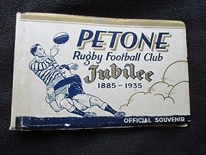 Petone Rugby Football Club, 1885-1935 : jubilee: Robertson, J. R.,