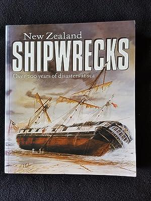 New Zealand shipwrecks : over 200 years: Wheatley, P. Owen,