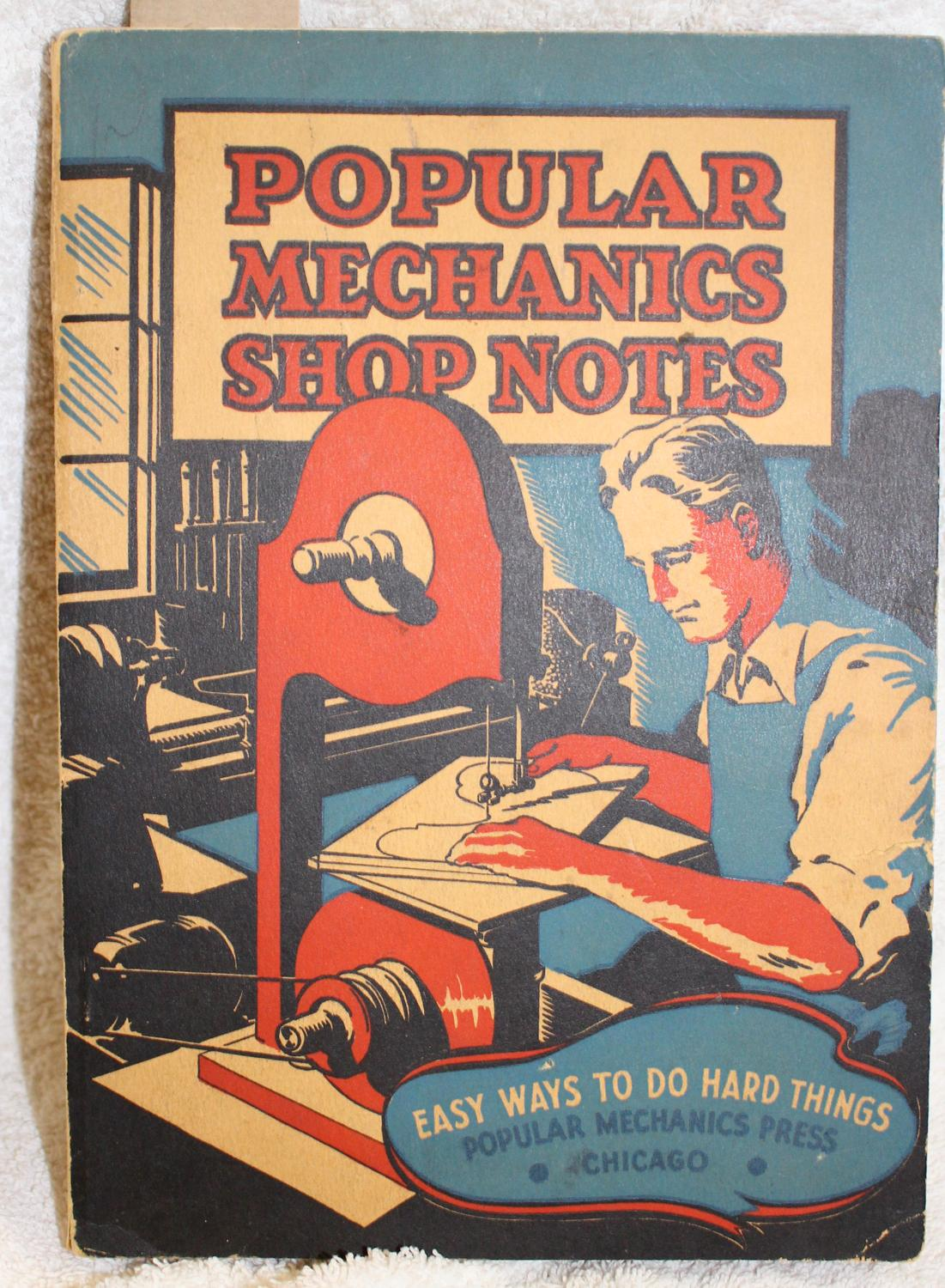 popular mechanics shop notes 1936 volume xxxii by editors of popular