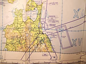 7 KOREAN WAR ERA AERONAUTICAL CHARTS: JAPAN & KOREA