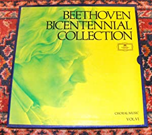 BEETHOVEN: BICENTENNIAL COLLECTION - CHORAL MUSIC -: Beethoven