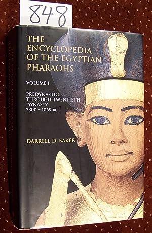 the Encyclopedia of the Pharoahs: Predynastic to: Baker, Darrell D.