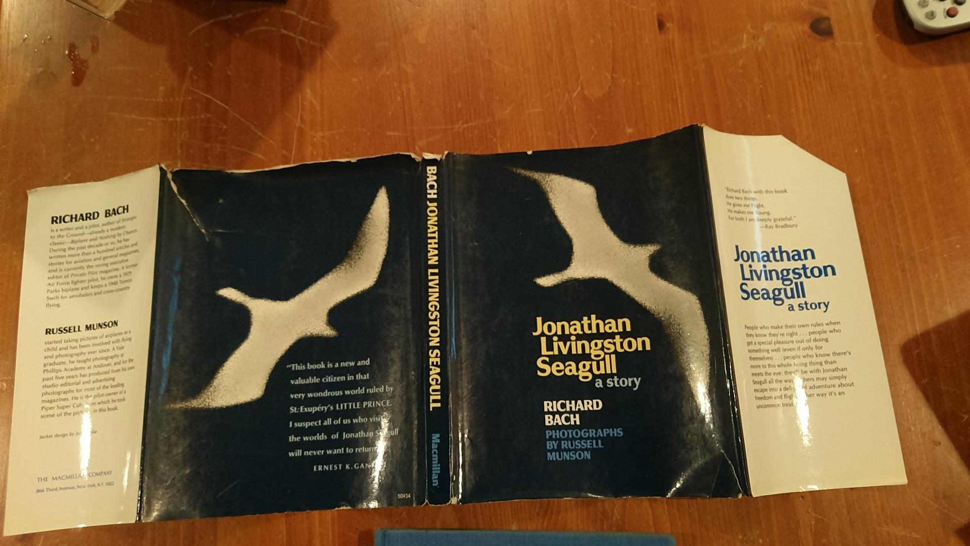 an analysis of the book jonathan livingston seagull by richard bach Abebookscom: jonathan livingston seagull: the complete edition (9781476793313) by richard bach and a great selection of similar new, used and collectible books.