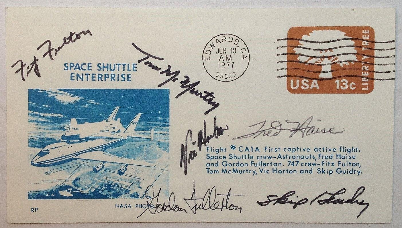Space Shuttle, Signed - AbeBooks