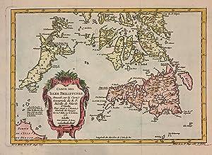 Carte Des Isles Philippines: BELLIN, Jacques Nicolas Sur les Manuscrits du Depot des Cartes De la ...