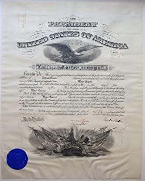 Large Document Signed on Vellum