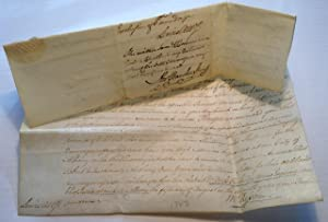 Autographed Document Signed on Vellum