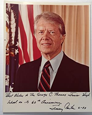 Inscribed Official White House Photograph