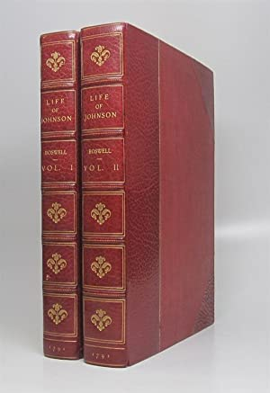 The Life of Samuel Johnson, Comprehending an: BOSWELL, James