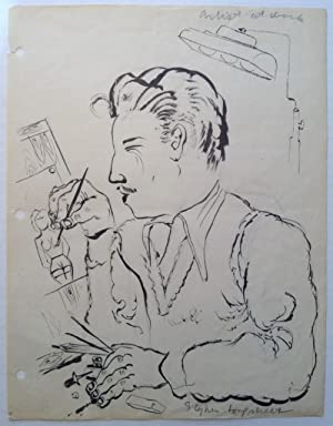 Signed Original Self-Portrait