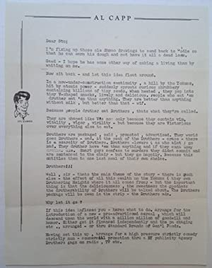 Comical Typed Letter on personal letterhead