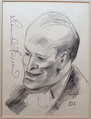 Original Signed Portrait of Leonard Warren