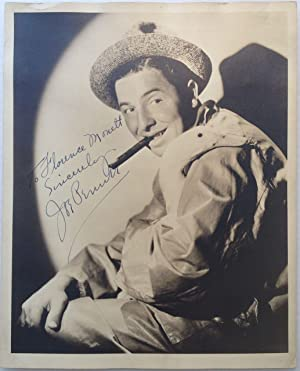 Inscribed Vintage Photograph: PENNER, Joe (1904 - 1941)