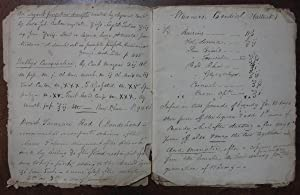 Handwritten Booklet of 19th-Century Traditional Remedy Recipes: FOLK REMEDIES