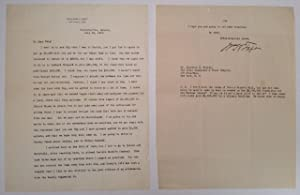 Typer Letter Signed as Professor of Law at Yale