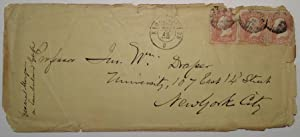 Envelope Addressed in his Hand to a Distinguished Professor