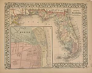 County Map of Florida: MITCHELL, Samuel Augustus Jr.