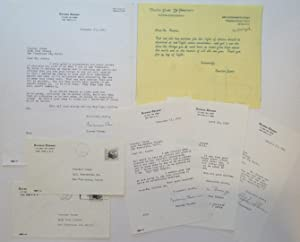 Archive of Four Typed Letters Signed to Proctor Jones: THOMAS, Norman (1884 - 1968)