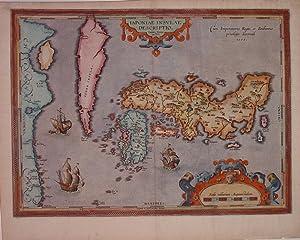 Japoniae Insulae Descrptio: ORTELIUS, Abraham