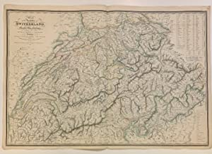 Map of the Republic of Switzerland, describing its Twenty-Two Cantons; including those of Le Valais...
