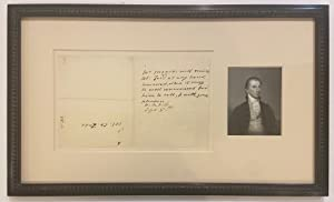 Third person War-date Autographed Letter Signed: MONROE, James (1758 - 1831)